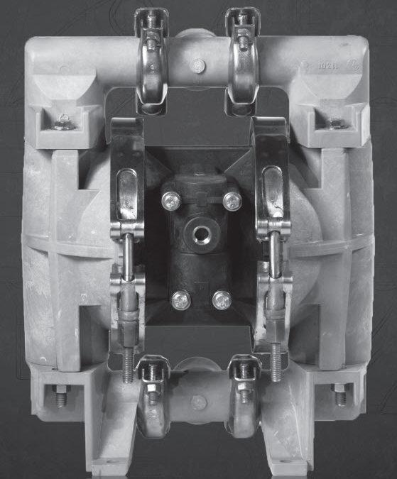 1 Inch Air Diaphragm Pump – C100-NPP-TTPT-G70